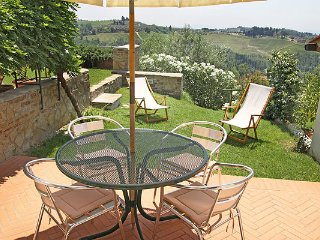 2 / 4 people apartment in the wineyards, Montespertoli