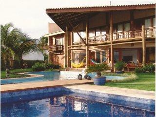 Beach Paradise House on Brazil, Cumbuco