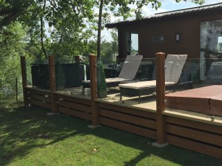 22 Rudd Lake - Hot Tub Fishing WIFI Tattershall