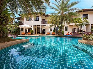 2 bed resort villa with communal pool