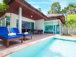 Modern 1 bed Chaweng beach pool villa, Koh Samui