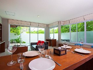 Modern resort pool villa with 2 beds