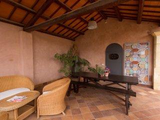 Splendida Villa w / giardino, Marsala