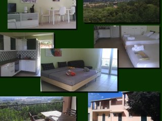 New spacious studio apartment with wonderful view, Agios Ioannis