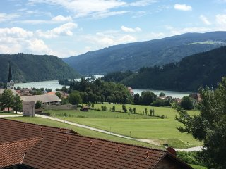 Appartement Donauparadies mit Donau Panoramablick, Obernzell