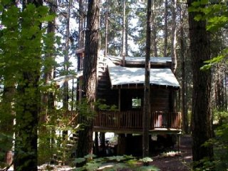 Tree House Tranquil-A-Tree, White Salmon