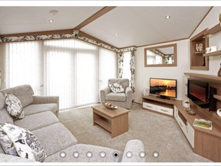 Luxury 3 bed Caravan. Camber Sands Park Resort.