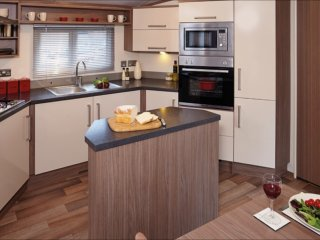 Luxury 3 bed Caravan. Camber Sands on Park Resort.