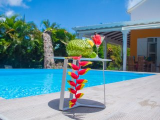 Villa Bel Arbre, 3 chambres avec piscine et spa, Saint Francois