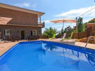 Chalet luxe avec piscine vue sur mer idéal jeunes, Lloret de Mar