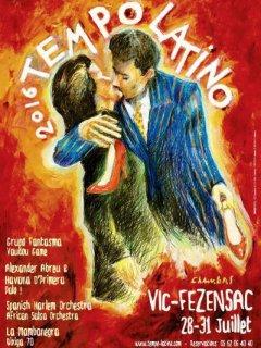 festival de Tempo Latino à Vic Fezensac en juillet à 19mn