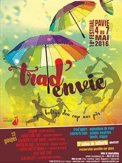 Festival Trad'envie à Pavie en mai à 35 mn