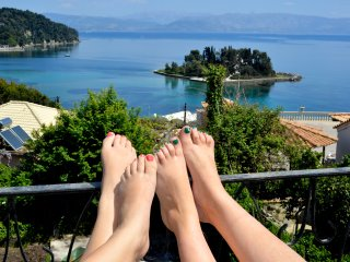 CORFU STORY breathtaking view HOUSE, Perama