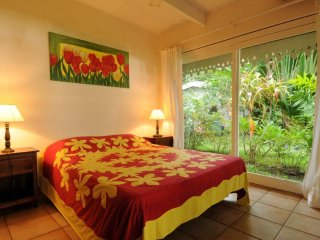 Villa Belle Epoque - sea side property - Tahiti, Papetoai