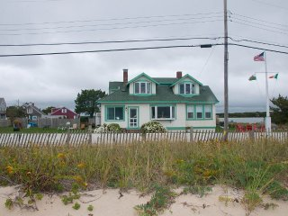 Oceanfront with Private Beach in Falmouth on Cape Cod.
