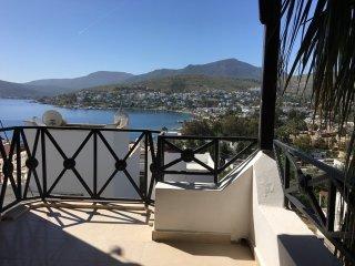 3+1 villa with fantastic sea view in Türkbükü, Península de Bodrum