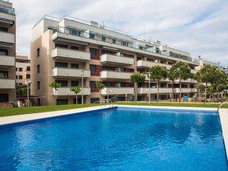 Ático con gran terraza, airconditio, Lloret de Mar
