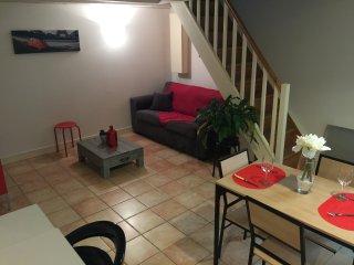 appartement avec jardinet centre, Rochefort