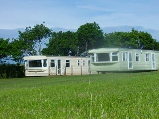 Luxury 8 birth holiday caravans, Copplestone