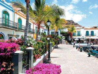 Puerto de Mogan, Apartamento Mele, Gran Canaria, con terraza, sol y playas.