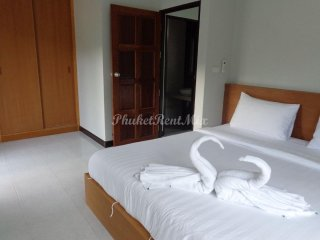 One bedroom condo with separate living rooms and kitchens area of Kamala