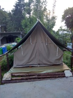 Tent House Front View
