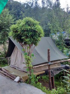 Tent House Side View