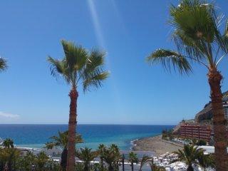 tolles Appartement mit Meerblick - sehr Strandnah, Puerto de Mogan