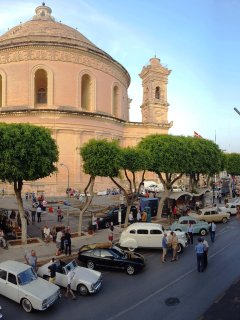 View of MOSTA DOME directly from studio balcony!