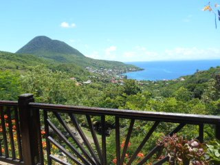 Zamana 60m2 Deck facing the island of St. Lucia, Les Anses d'Arlet