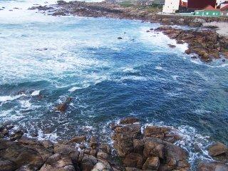 Piso con terraza en primera linea de costa., A Coruña