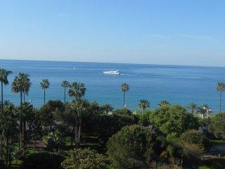 Terrasse avec vue mer feerique