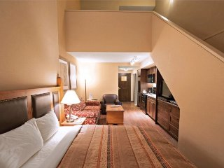 Whistler Blackcomb Lodge Studio Condo with Loft and Amazing Location