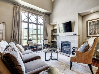 Sleek and Modern Penthouse at the Beaver Creek Entrance, with Private Shuttle