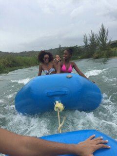 White water rafting Rio Bueno(leads into private beach)