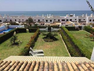 vista frontal desde la terraza