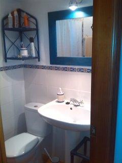 espejo en baño planta baja (ducha)
