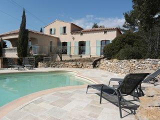 Villa avec vue mer cœur des vignes, La Cadiere d'Azur