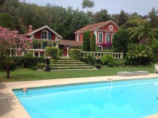 Villa protégée monument de France, Ecrin verdure, Cannes