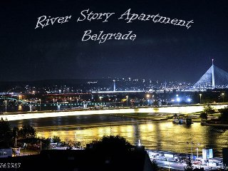 River Story Apartment 93m2, Belgrado