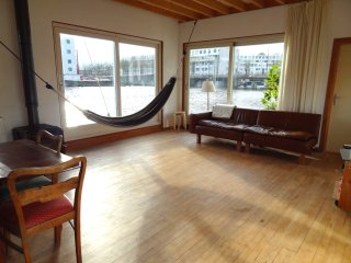 Boathouse Perfect for families, 3 bedrooms, max 4, Amsterdam