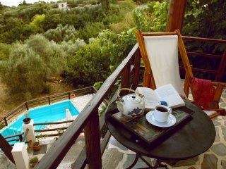 Holiday Villa Zoi Tzitzifes Chania with private swimming  pool  sleeps  8