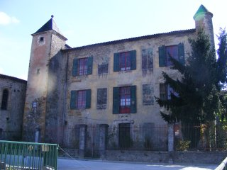 13th Century Village Chateau, Pyrenees, near Foix, Belesta