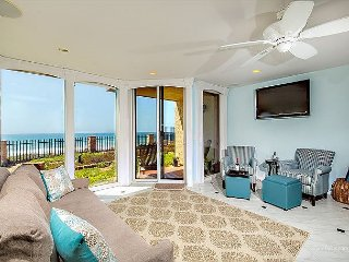 Blissful Beach Beauty - Oceanfront 1 Bedroom Solana Beach (DMST8)