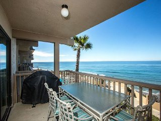 In Need Some Beach Therapy? 1 BR Oceanfront Condo In The Del Mar Beach Club