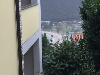 Rabac apartment close to sea with parking place