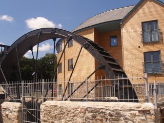 The Waterwheel Apartment, Charlestown, St Austell