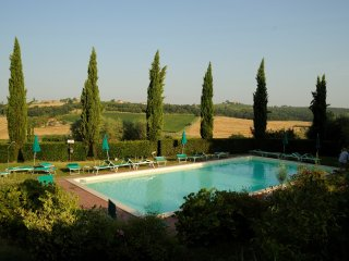 Beautiful apartment with pool in Montepulciano, Valiano
