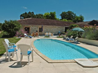 2 bed gite in newly converted Quercy stone barn