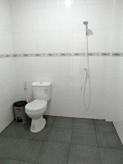 Bathroom shower, good power.